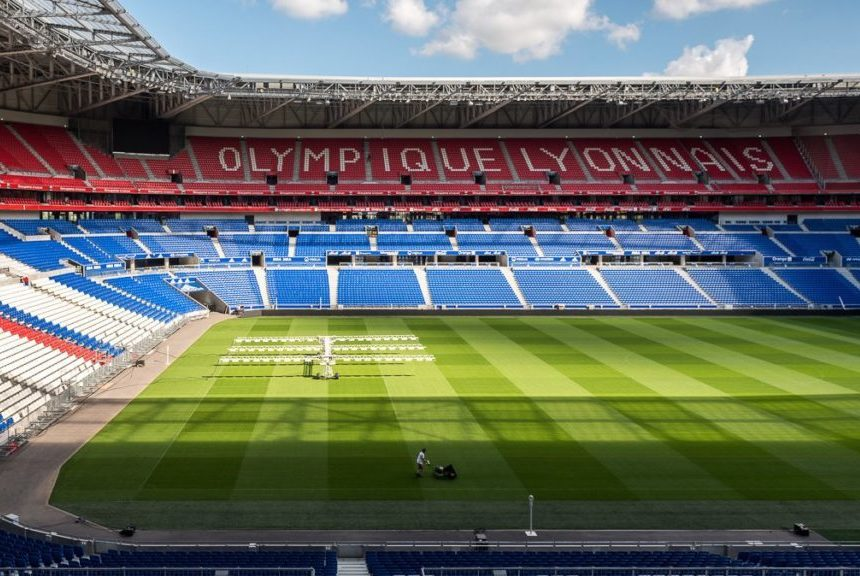 Groupama stadium Lyon elearning
