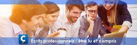 11Écrits professionnels : être lu et compris