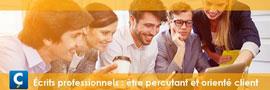 Écrits professionnels : être percutant et orienté client
